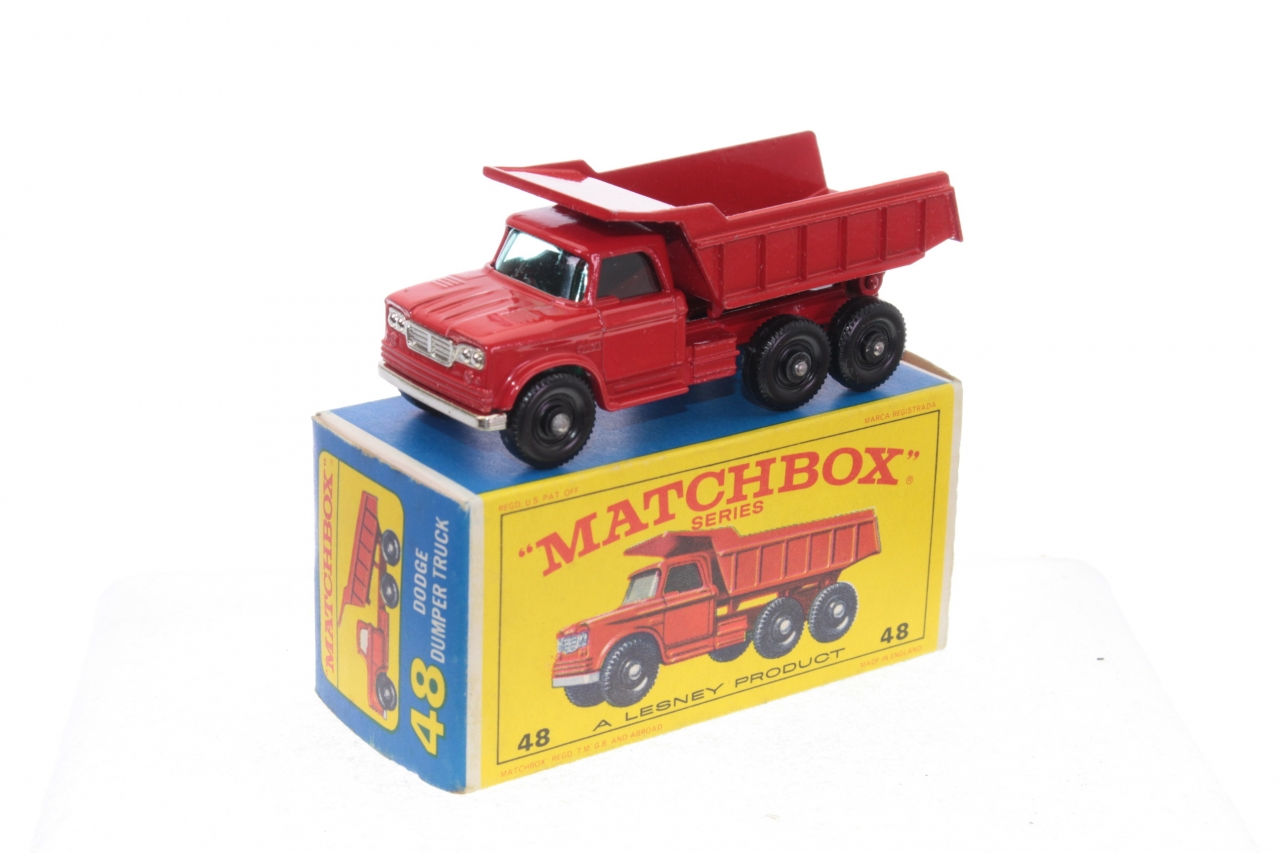 Picture Gallery for Matchbox 48c Dodge Truck