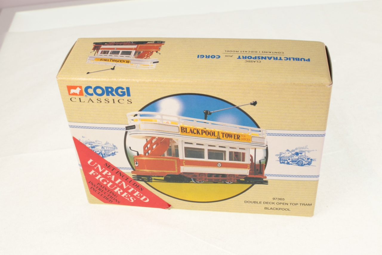 Picture Gallery for Corgi 97365 Open Top Tram