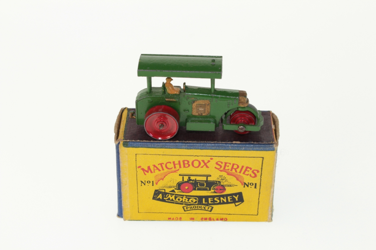 Picture Gallery for Matchbox 1a Diesel Road Roller