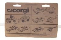 Corgi Juniors #2554 - Rover 3500 and Caravan Set - Yellow/Beige