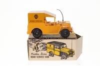 Mettoy #710 - AA Road Service Vehicle - Friction Drive - Yellow