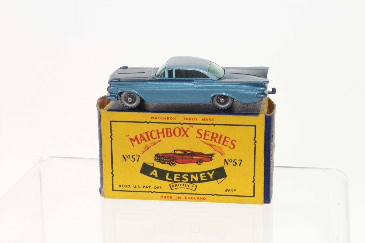 Matchbox 57b, Chevrolet Impala - Free Price Guide & Review