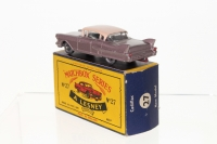 Picture Gallery for Matchbox 27c Cadillac 60 Special