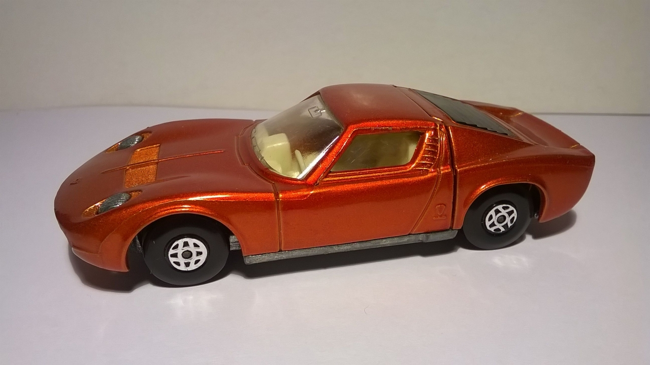 Picture Gallery for Matchbox K24-1 Lamborghini Miura