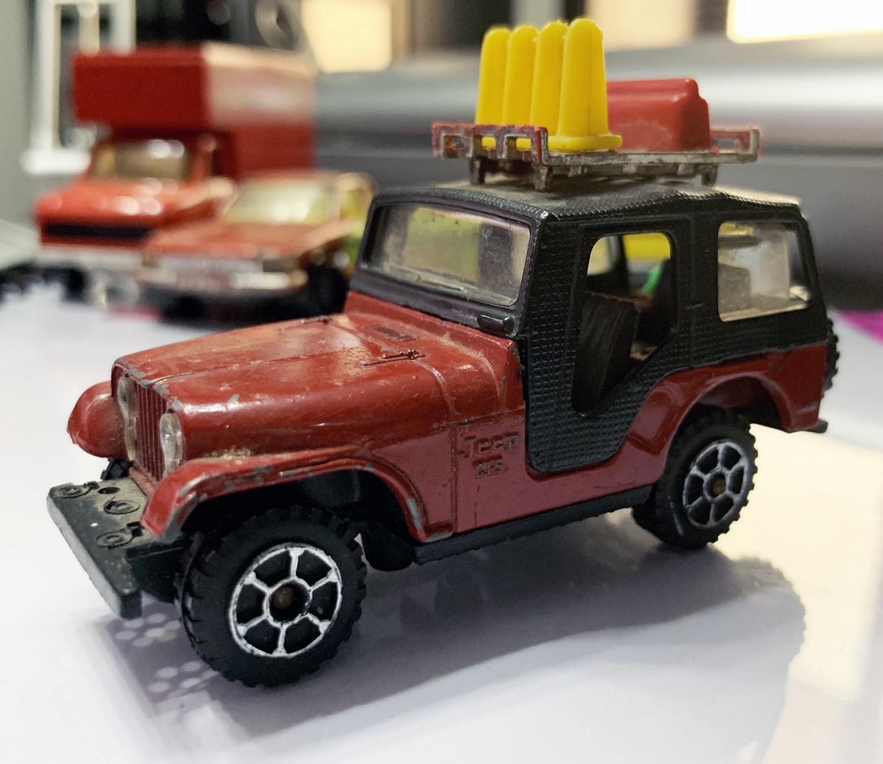 Picture Gallery for Polistil EL74 Jeep CJ-5